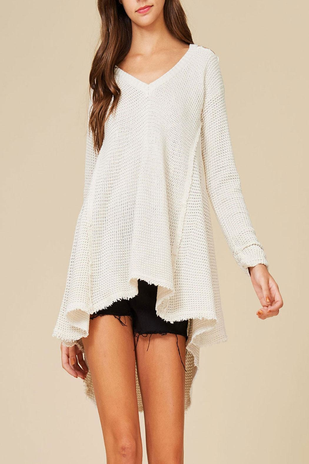 Listicle High Low Sweater - Main Image