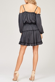 Listicle Kendra Grey Dress - Front full body