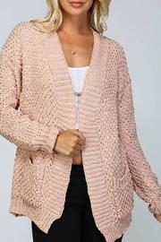 Listicle Knit Cardigan - Product Mini Image