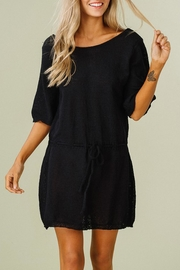 Listicle Knit Tunic Dress - Product Mini Image