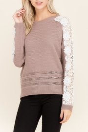 Listicle Lace Top - Product Mini Image