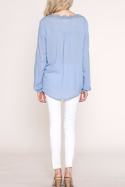 Listicle Lace Trim Top - Other