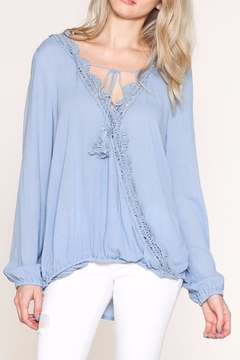 Shoptiques Product: Lace Trim Top