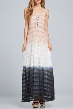 Listicle Lace-Up Maxi Dress - Product List Image