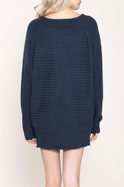 Listicle Laces Bust Sweater - Front full body