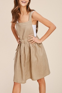 Shoptiques Product: Linen Apron Dress