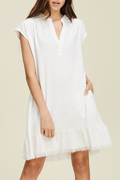 Shoptiques Product: Linen Fringe Dress