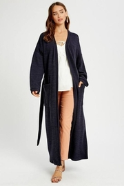 Listicle Long Knit Robe - Product Mini Image