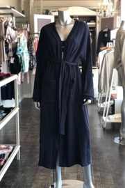Listicle Long Knit Robe - Front full body
