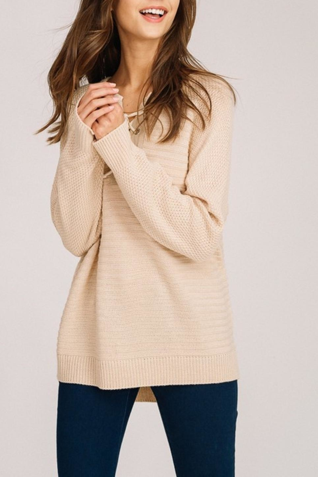 Listicle Long Pullover - Main Image