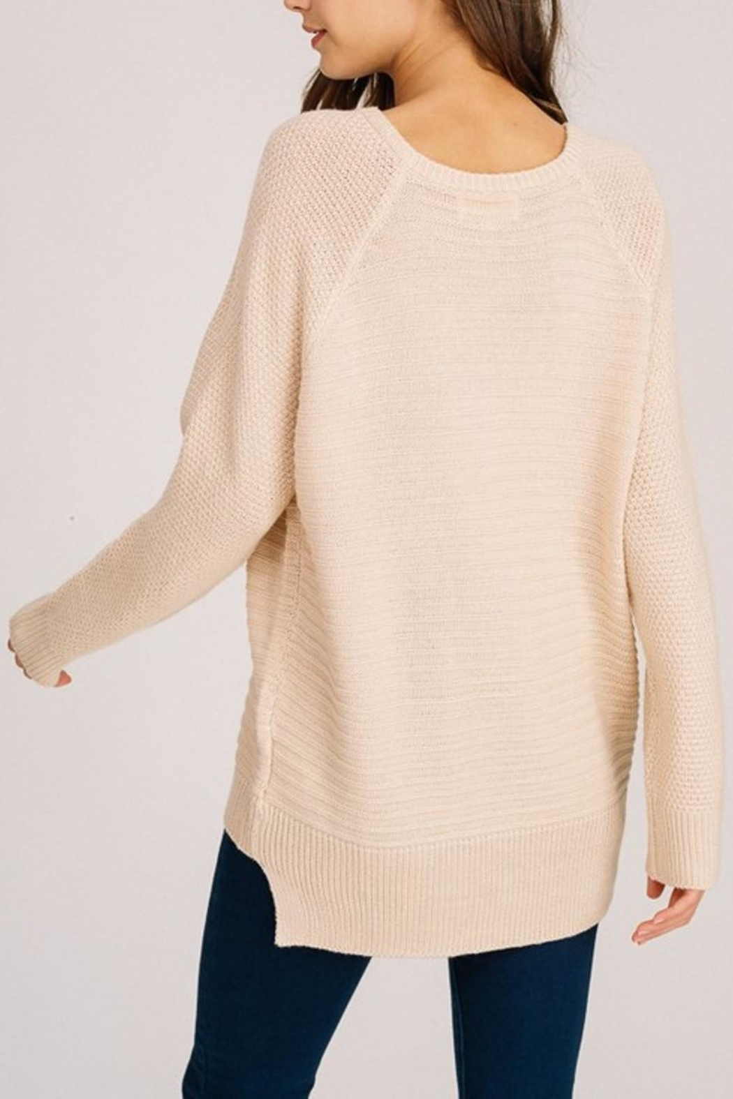 Listicle Long Pullover - Side Cropped Image