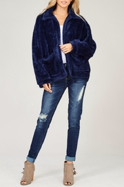 Listicle Navy Faux Fur - Product Mini Image