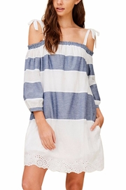 Listicle Off Shoulder Dress - Product Mini Image