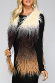 Listicle Ombre Fauxfur Vest - Product Mini Image