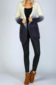 Listicle Ombre Shaggy Cardigan - Alternate List Image
