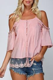 Listicle Cold Shoulder Top - Product Mini Image