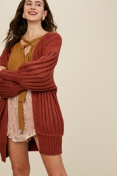 Listicle Over-Sized Dolman Sweater - Product List Image
