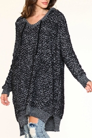 Listicle Over-Sized Knit Sweater - Front cropped