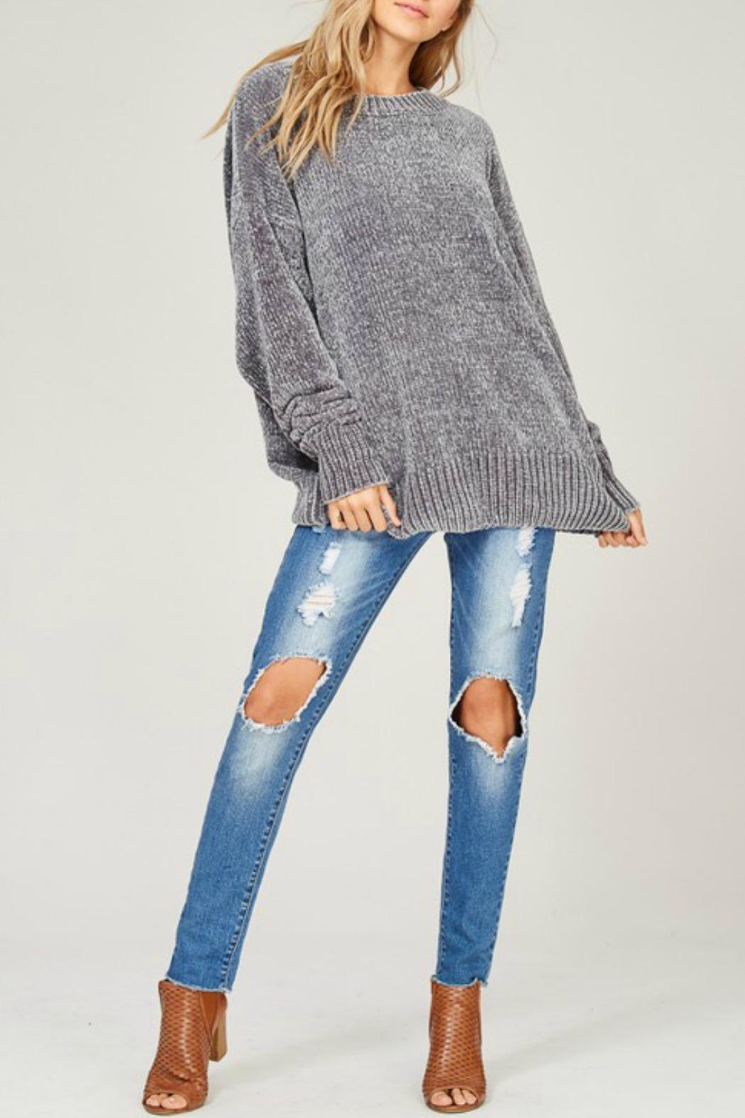 b57f9c56b59 Listicle Oversized Chenille Sweater from Connecticut by Deja Vu ...