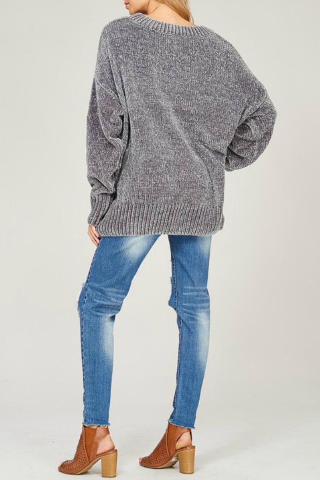 7485dad9db Listicle Oversized Chenille Sweater from Connecticut by Deja Vu ...