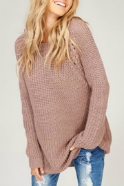 Listicle Perfect Mauve Sweater - Product Mini Image