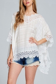 Listicle Poncho Top - Product Mini Image