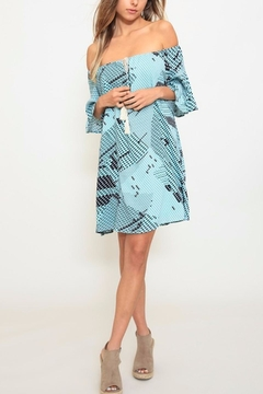 Shoptiques Product: Printed A-Line Dress