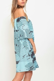 Listicle Printed A-Line Dress - Side cropped