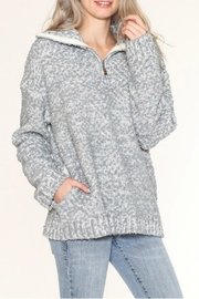 Listicle Pullover Knit Sweater - Product Mini Image