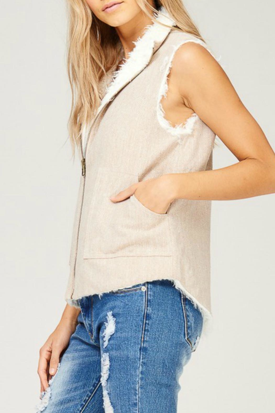 Listicle Reversible Vest - Side Cropped Image