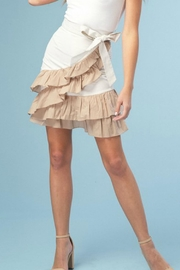 Listicle Ruffled Mini Skirt - Product Mini Image