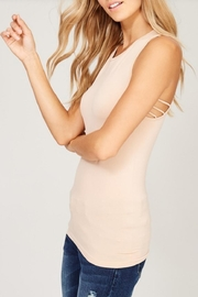 Listicle Seamless Tank Top - Front cropped