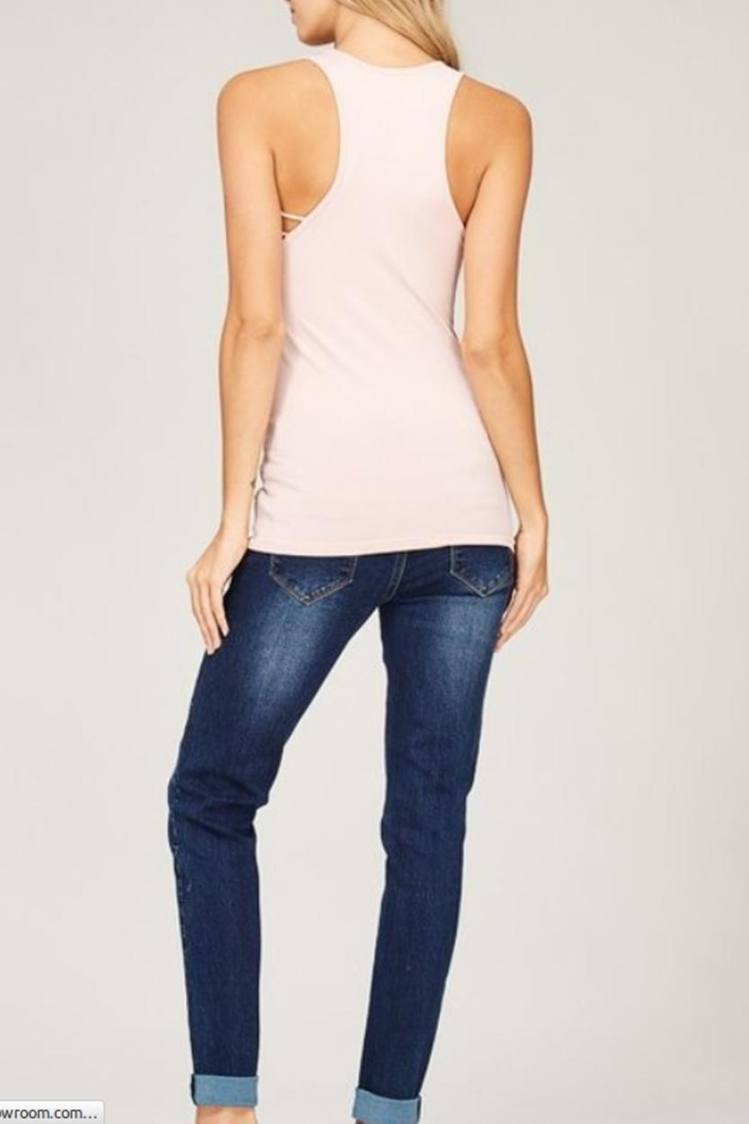 Listicle Seamless Tank Top - Side Cropped Image