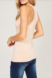Listicle Seamless Tank Top - Front full body