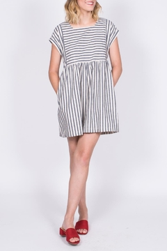Listicle Striped Babydoll Dress - Product List Image
