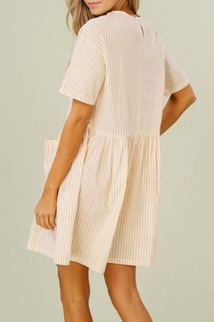 Listicle Striped Cotton Dress - Alternate List Image