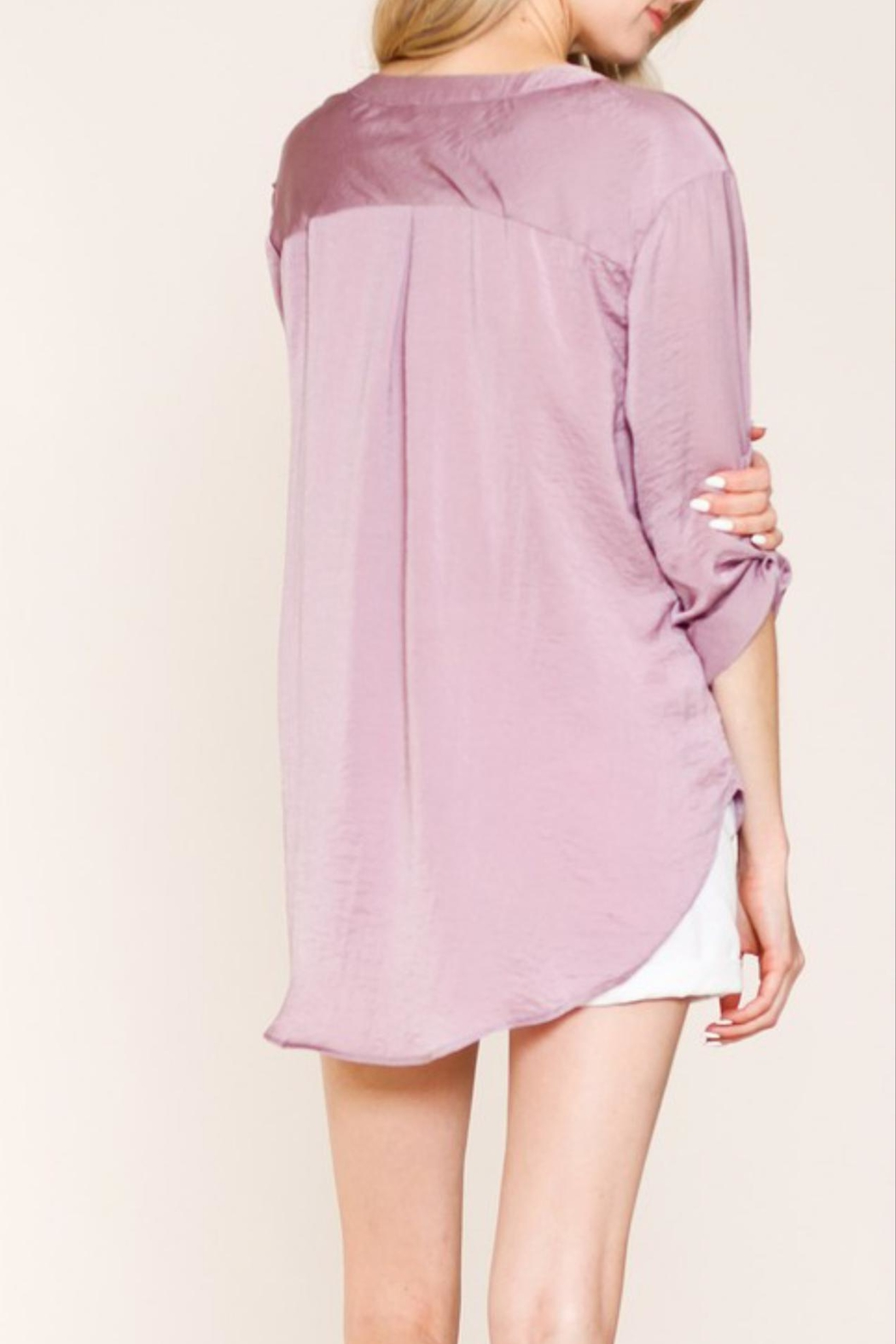 Listicle Sugar Plum Top - Side Cropped Image