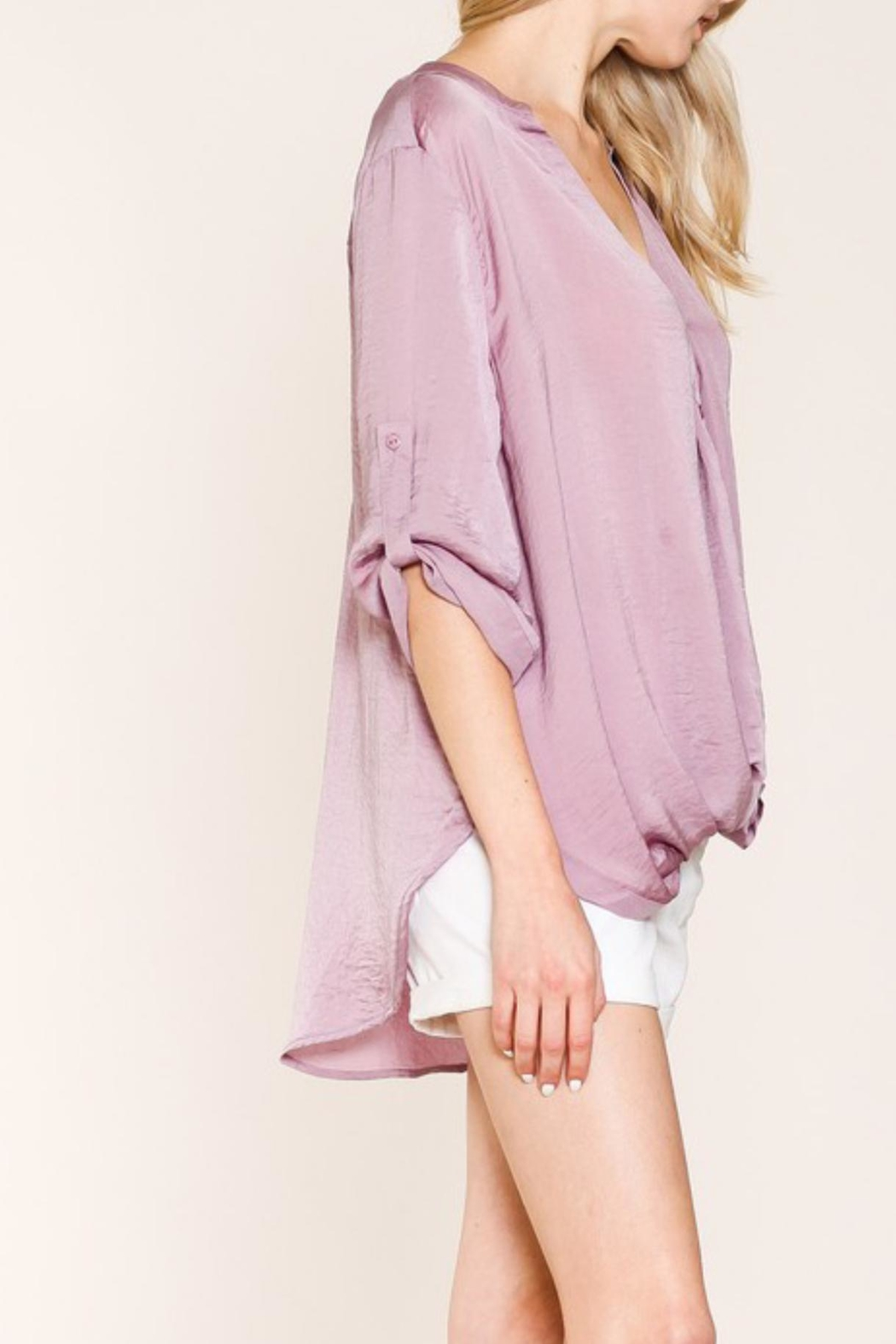 Listicle Sugar Plum Top - Front Full Image