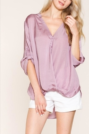 Listicle Sugar Plum Top - Front cropped