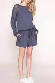 Listicle Terry Romper - Product Mini Image