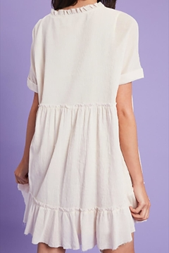 Listicle Textured Linen Babydoll - Alternate List Image