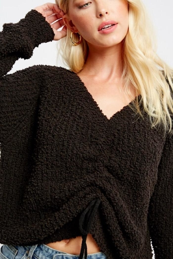 Listicle Textured Sweater from New York by Jamie and Maxi — Shoptiques