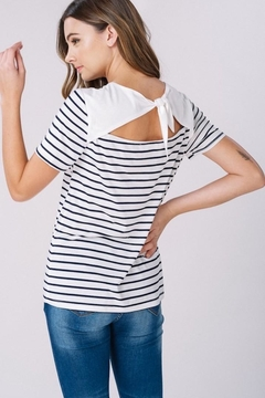 Listicle Tie Back T-Shirt - Product List Image