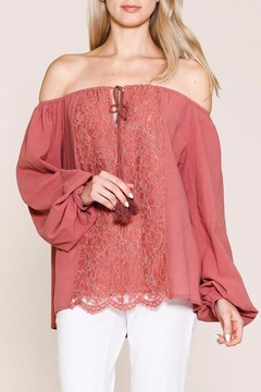 Listicle Top With Embroidery - Product List Image