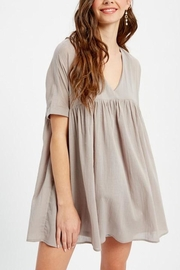 Listicle Tunic Dress - Front cropped