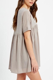 Listicle Tunic Dress - Side cropped
