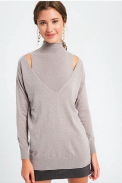 Listicle Two Piece Sweater - Product List Image