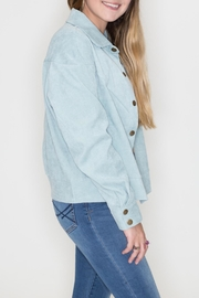 Listicle Vintage Corduroy Jacket - Front full body