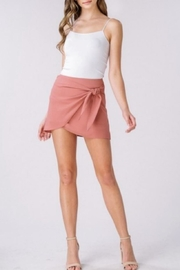 Listicle Wrap Mini Skirt - Product Mini Image