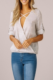 Listicle X Suprlice Top - Front cropped